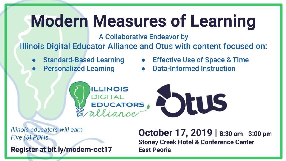 Modern Measures of Learning Conference